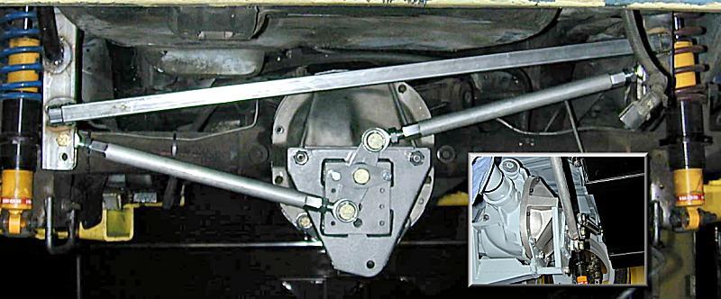 Rear Axle Lateral Locator Complete 171 J Rho S 67 Camaro