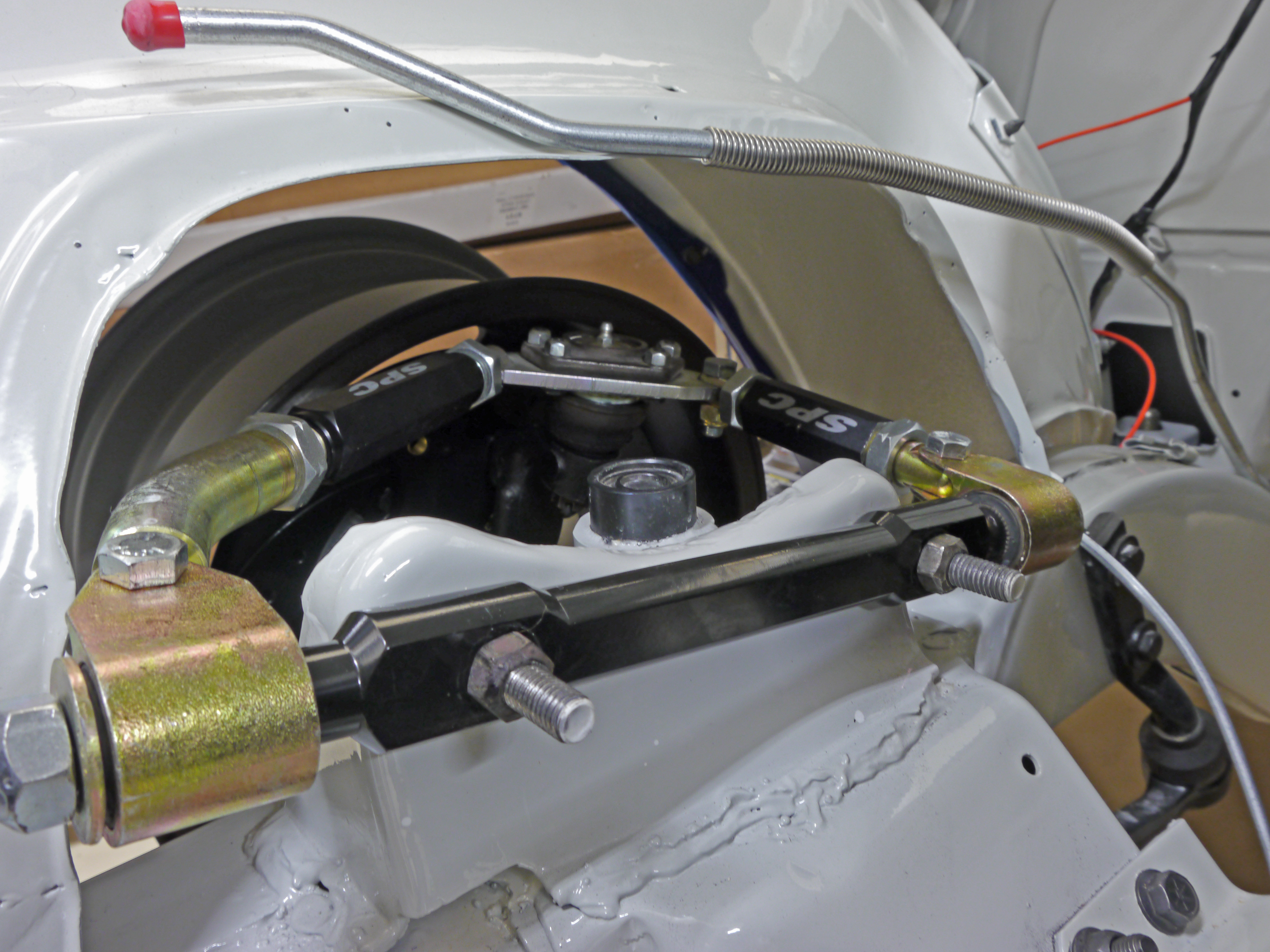Playing with the front suspension « J-Rho's '67 Camaro Z28