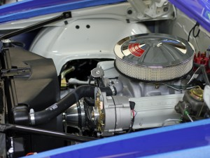 5.0/302 cubic inch SBC V8 in Jason Rhoades 1967 Camaro