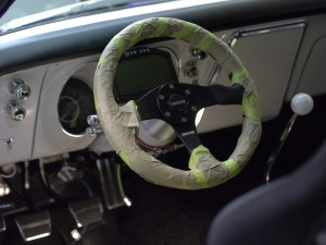 Interior of Jason Rhoades 1967 Camaro Z28 clone