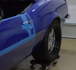 Rear ride height on Jason Rhoades STX Camaro Z28