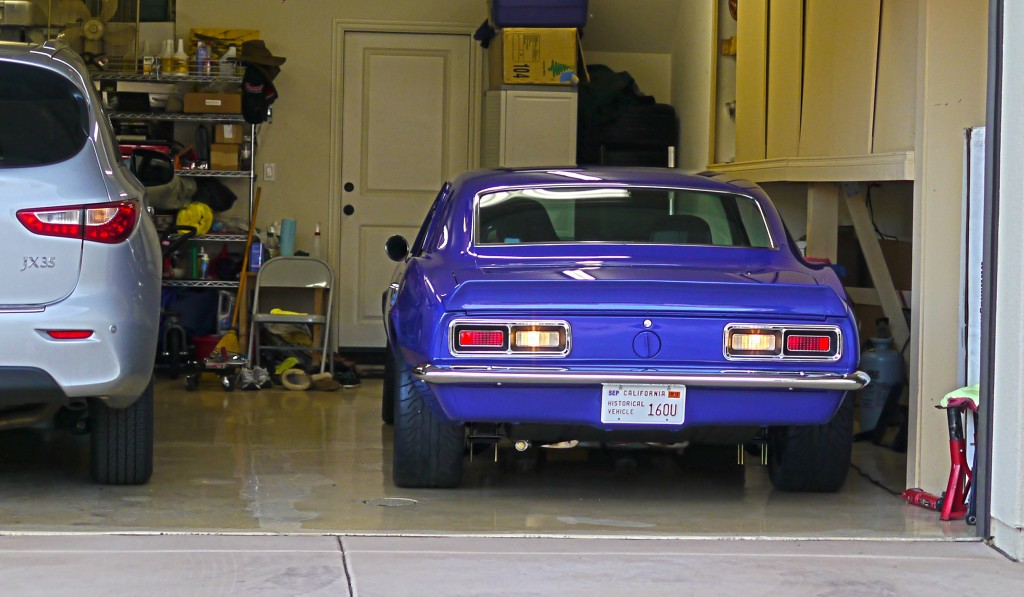 J-Rho finally gets the Camaro out of the garage
