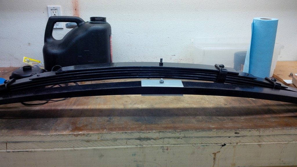 Global West and Flex-A-Form leaf springs for Jason Rhoades Camaro