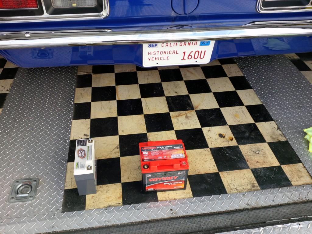 XS Power lithium battery in Jason Rhoades STX Camaro