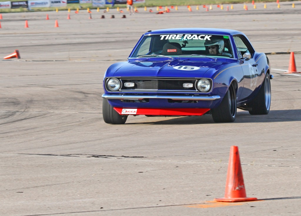 J-Rho's STX Camaro at the 2013 SCCA Solo National Championships